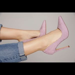 Shoes - Lavender Pointed stiletto heels